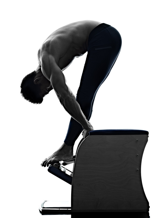 pilates marbella pull up chair exercise