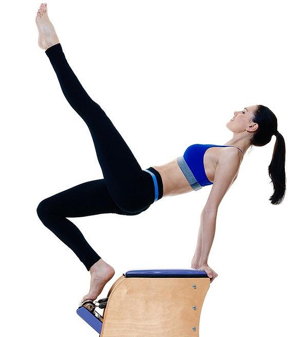 pilates san pedro table exercises on chair