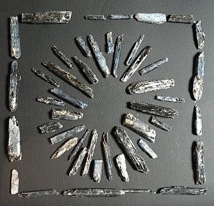 Indigo Kyanite / 20gm / x6 pieces