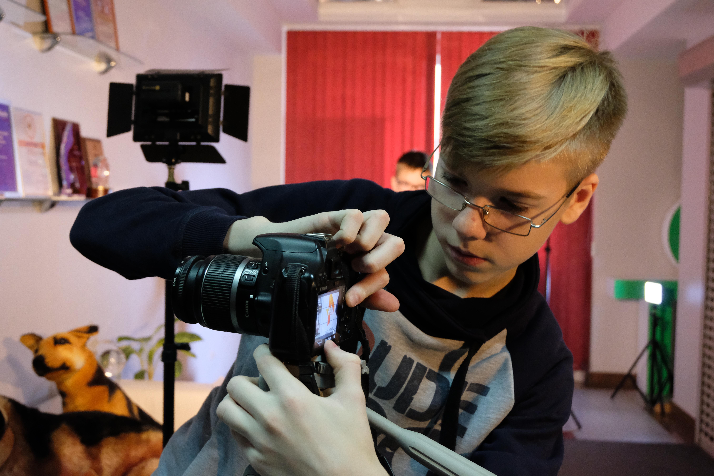 Обучение видеосъёмке