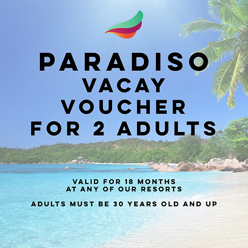 All-Inclusive 5 day/4 night Voucher for 2 Adults