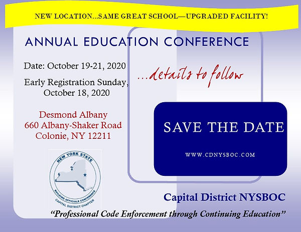 2020 Annual Educational Conference Save