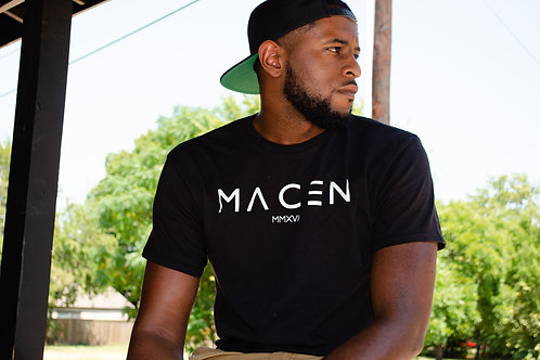 MACEN T SHIRT BLACK