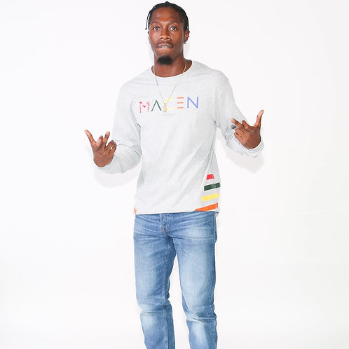 MACEN MULTICOLOR LONG SLEEVE T SHIRT