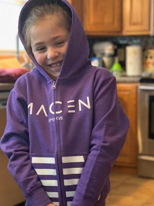 MACEN KIDS ZIP UP HOODY