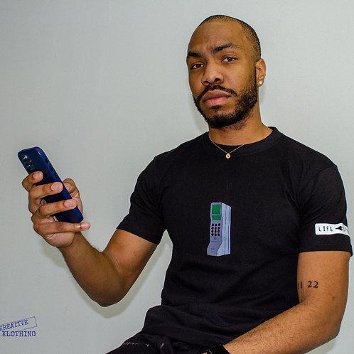 Plug phone t shirt