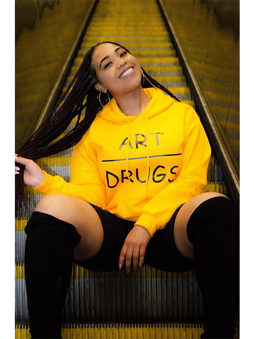 Art Over Drugs Hoodie