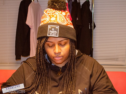 Plug Element Paisley Winter Hat