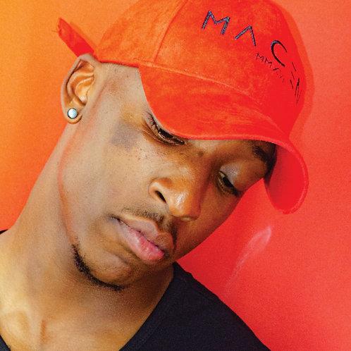 MACEN Red Seude Dad Hat