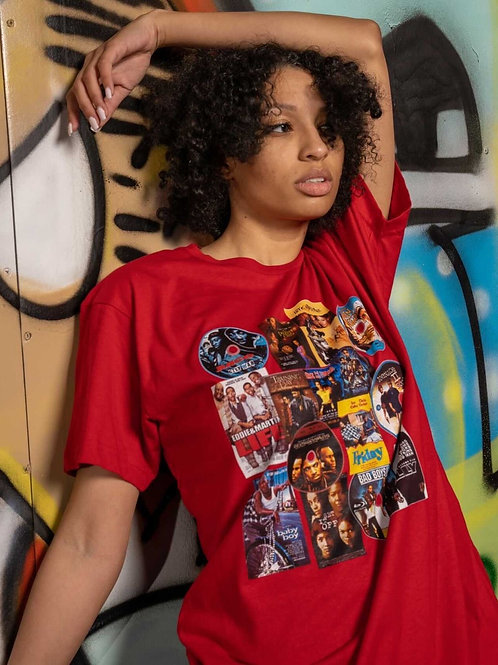Classic DVDs Graphic T RED