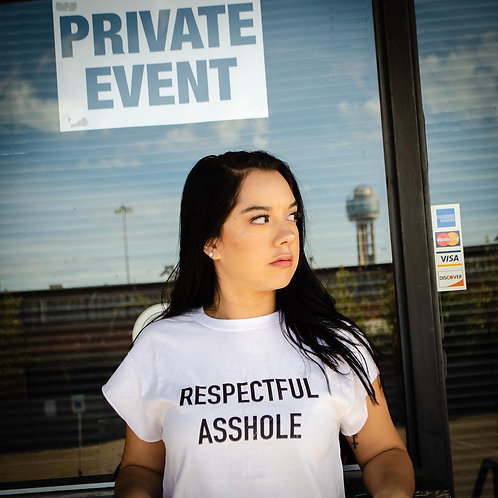 Respectful Asshole t-shirt