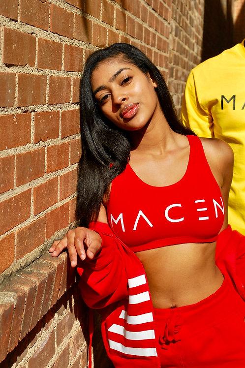 MACEN SPORTS BRA RED