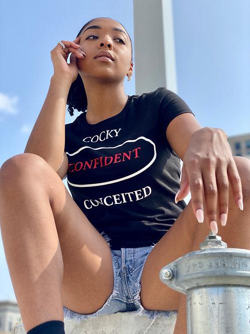 Confident Typography T-Shirt