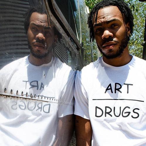 Art Over Drugs t-shirt