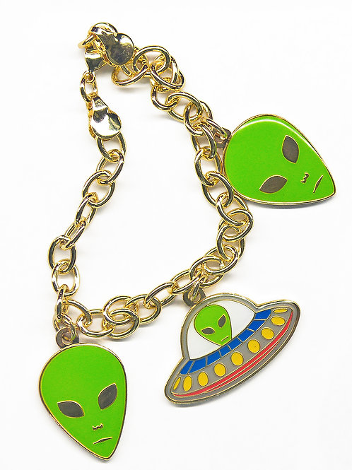 Alien Heads, Space Ship Bracelet