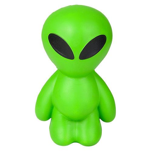 """11"""" Jumbo Squish Green Alien"""
