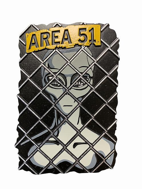 Alien Fence Magnet