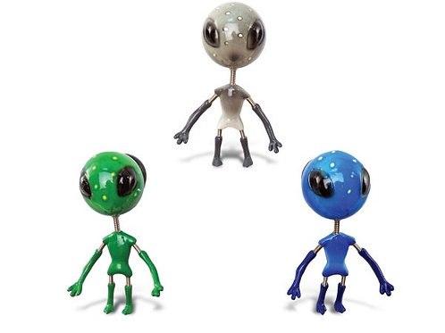 Alien Bobble Head Magnets