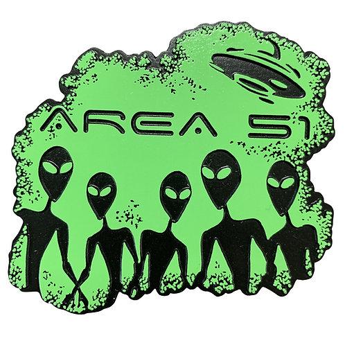 Area 51 Aliens Refrigerator Magnet