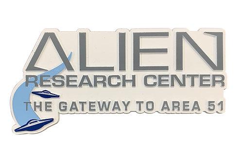 Alien Logo Refrigerator Magnet