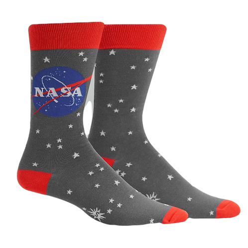 NASA Grey and Red
