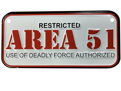 Area 51 Bike Plate