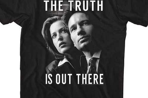Mulder Scully, The Truth is Out There T-Shirt