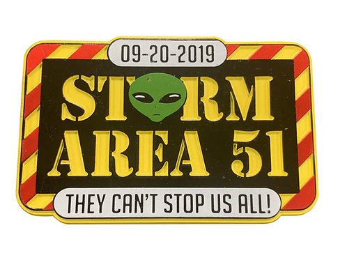 Storm Area-51 Logo Magnet