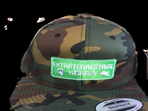 Extraterrestrial Highway Camo Hat
