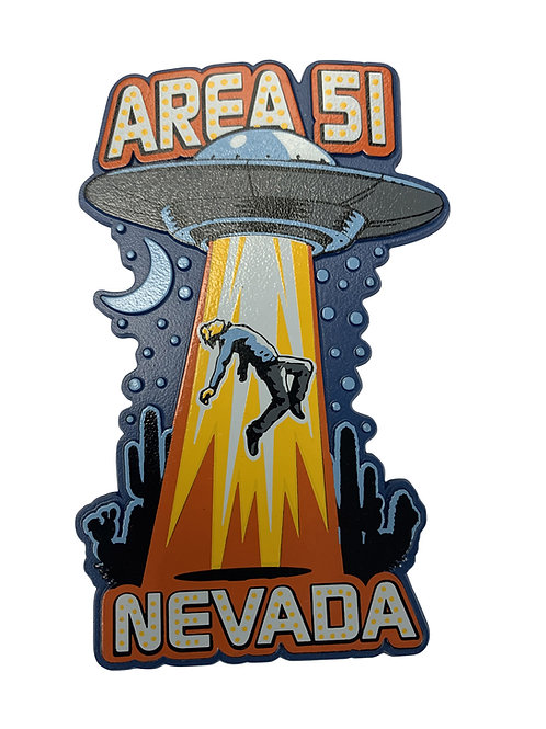 Area 51 Space Ship Beam Magnet