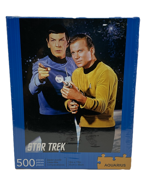 Star Trek Spock & Kirk 500pc Puzzle