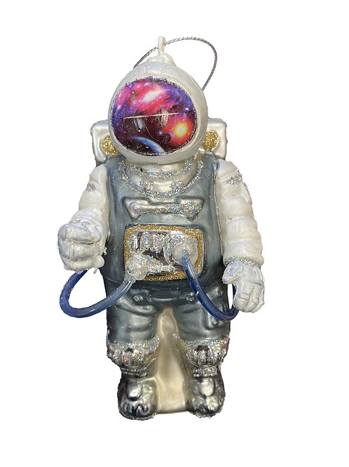 Spaceman Christmas ornament