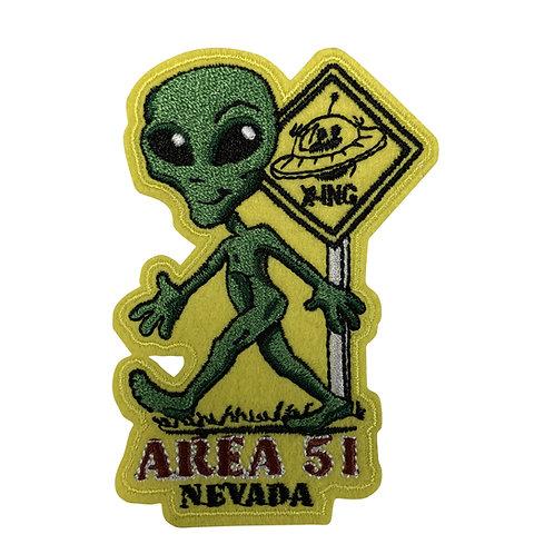 Alien X-Ing Patch