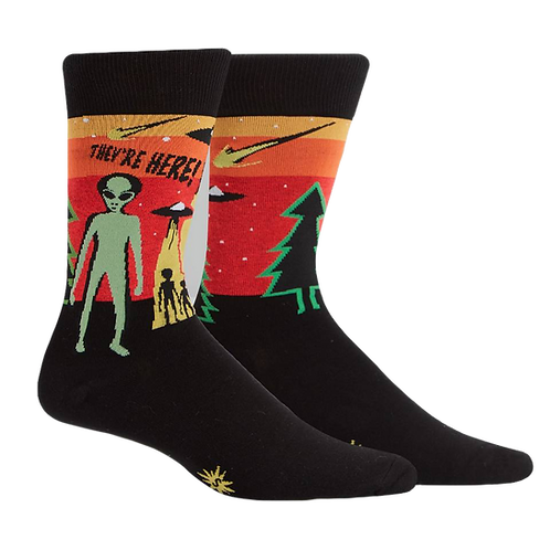 They're Here! Socks