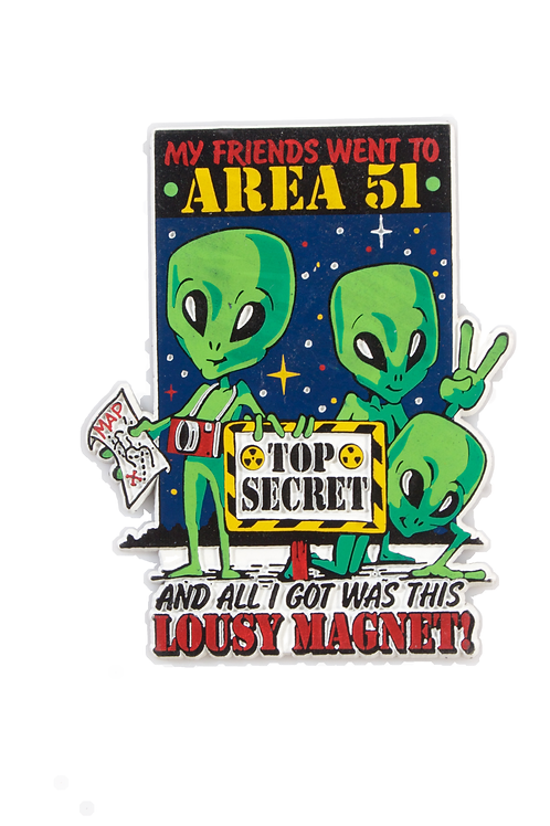 Area 51 Lousy Magnet
