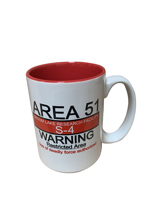 Warning Sign El Grande Mug