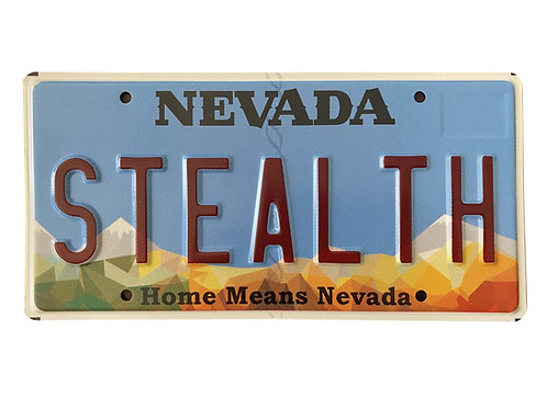 License Plate Stealth
