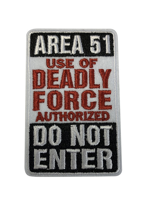 Deadly Force Patch