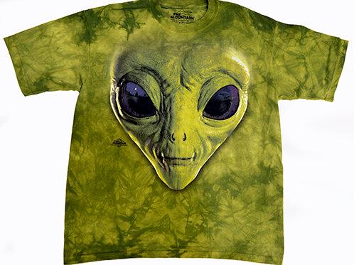 Green Alien Head Tee