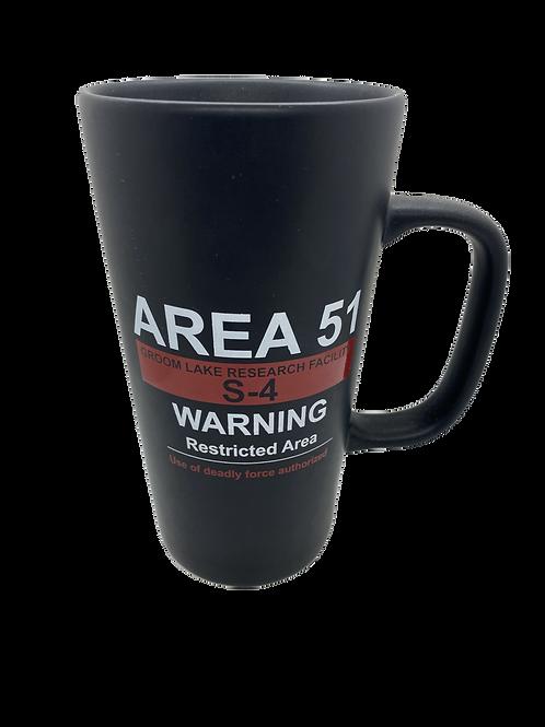 Warning Sign Metra Stone Mug 16oz