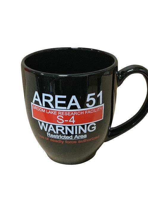 Warning Sign Bistro Mug