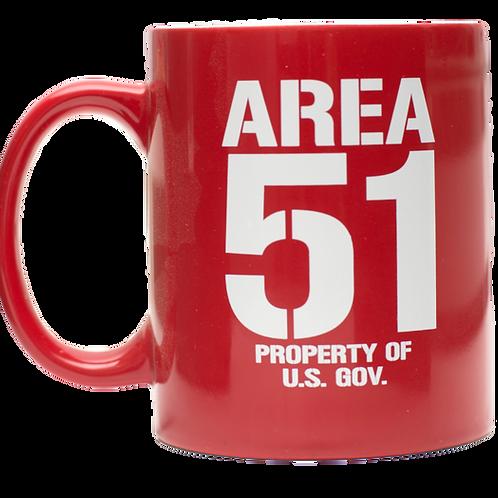 Area 51 Property of U.S. Gov. Mug