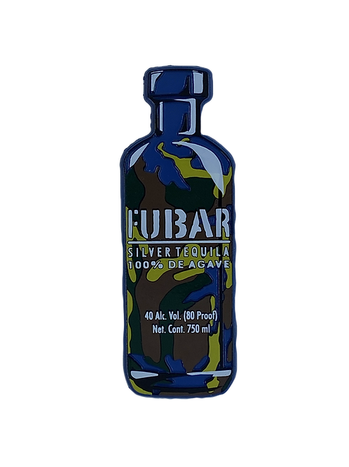 FUBAR Bottle Refrigerator Magnet