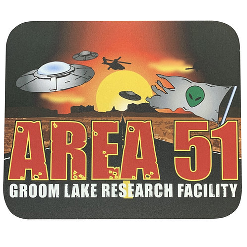 Groom Lake Mouse Pad