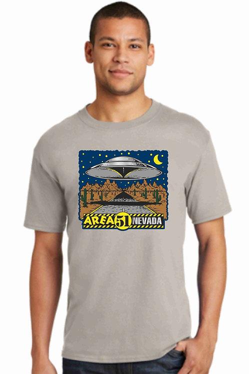 Area 51 Highway Saucer Tee-Shirt