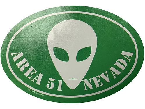 Alien Area 51 Nevada Sticker