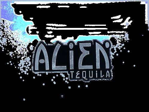 Alien Tequila Logo Magnet