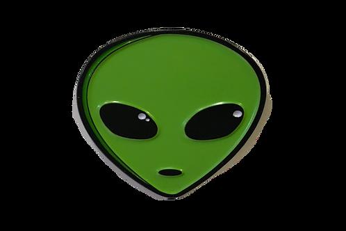 Alien Head Lapel Pin