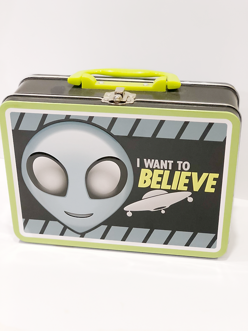 I want to Believe Lunch Box
