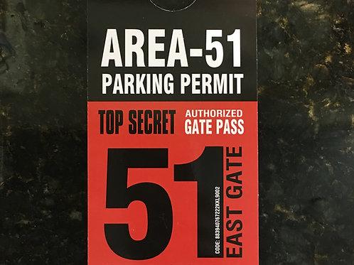 Area 51 Parking Permit
